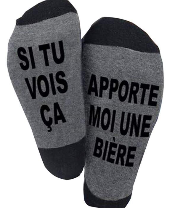 chaussettes marrantes a moins de 5 euros