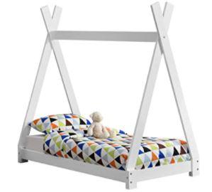 lit tipi blanc enfant