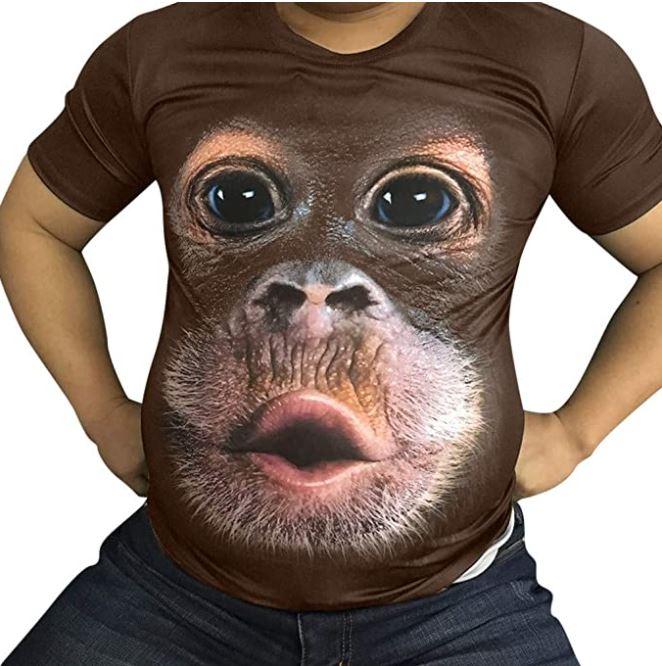 t shirt singe marrant a moins de 5 euros idee cadeau marrante