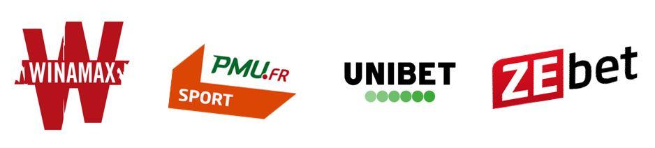 logos des sites de paris sportifs