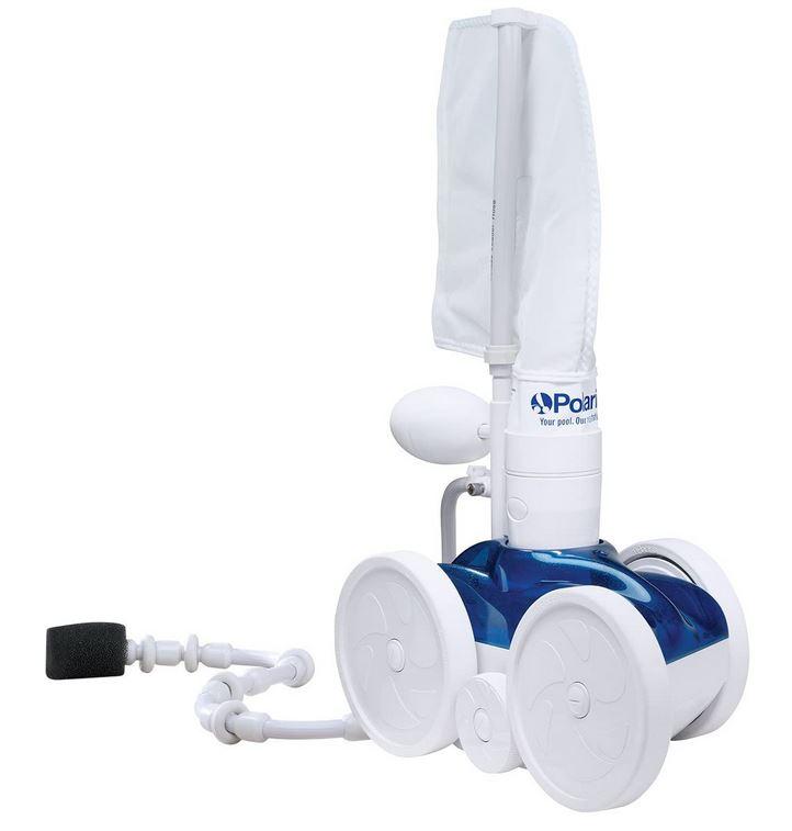 robot zodiac F 5 P280 nettoyeur a pression de piscine modele de couleur bleu et blanc